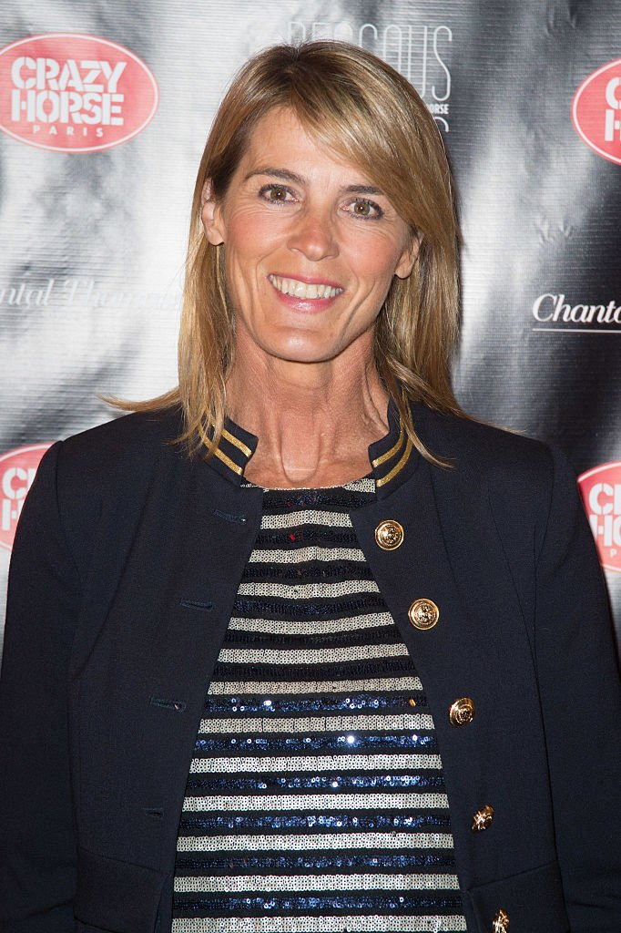 "Nathalie Simon assiste à la première du spectacle ""Chantal Thomass Dessous Dessus"" au Crazy Horse le 5 octobre 2016 à Paris, France. 