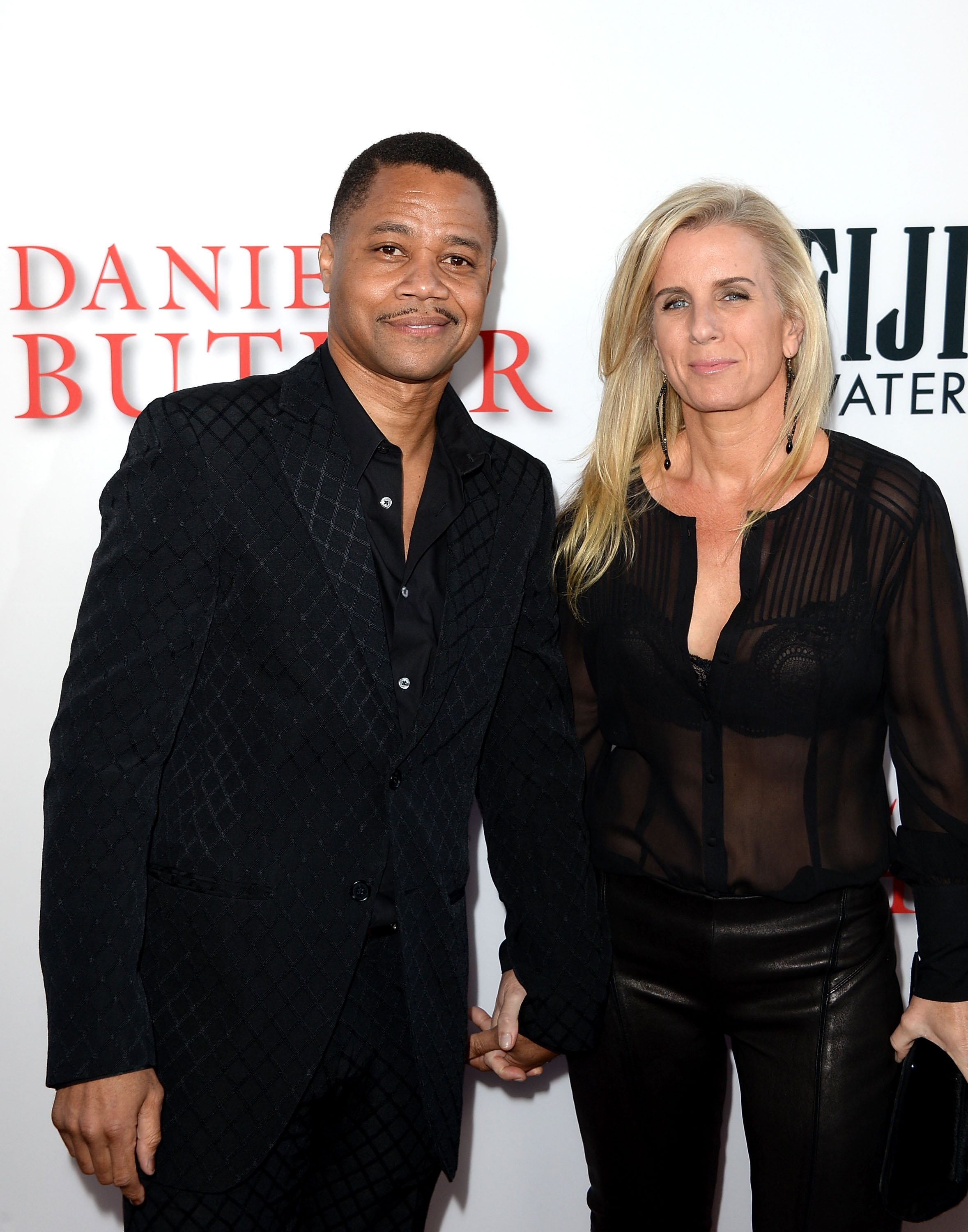 """Cuba Gooding Jr. and Sara Kapfer at the premiere of """"Lee Daniels' The Butler"""" in Los Angeles, California on Aug. 12, 2013."""