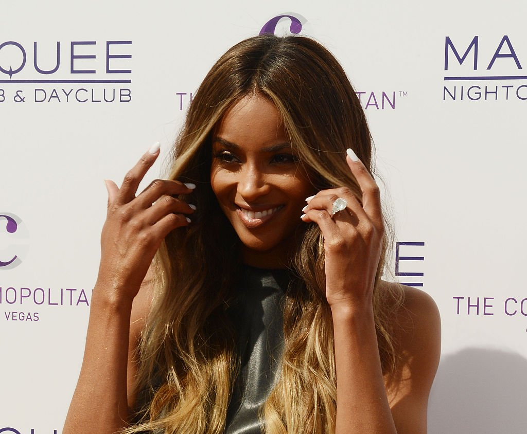 Ciara arrives at the season grand opening of Marquee Dayclub at the Cosmopolitain on March 19, 2016 | Photo: Getty Images