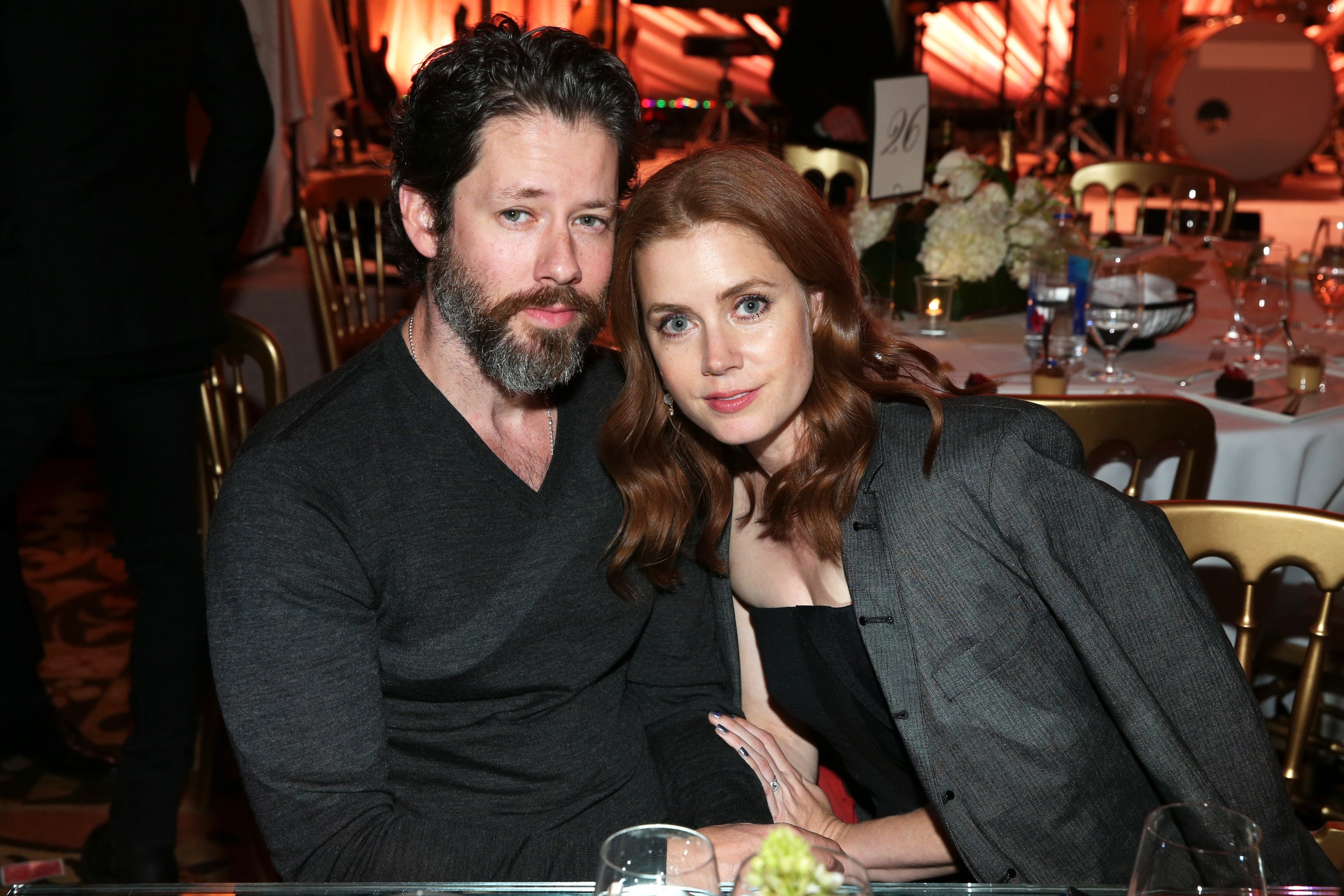 Amy Adams and Darren Le Gallo pictured at The Weinstein Company's Academy Awards Nominees Dinner, 2015, California. | Photo: Getty Images