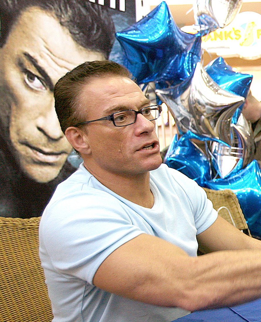 Jean Claude Van Damme. | Photo: Wikipedia