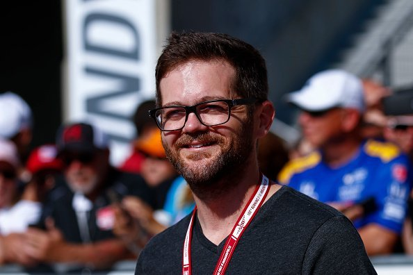 Josh Kaufman arrives at the Indianapolis Motor Speedway on May 29, 2016, in Indianapolis, Indiana. | Source: Getty Images.