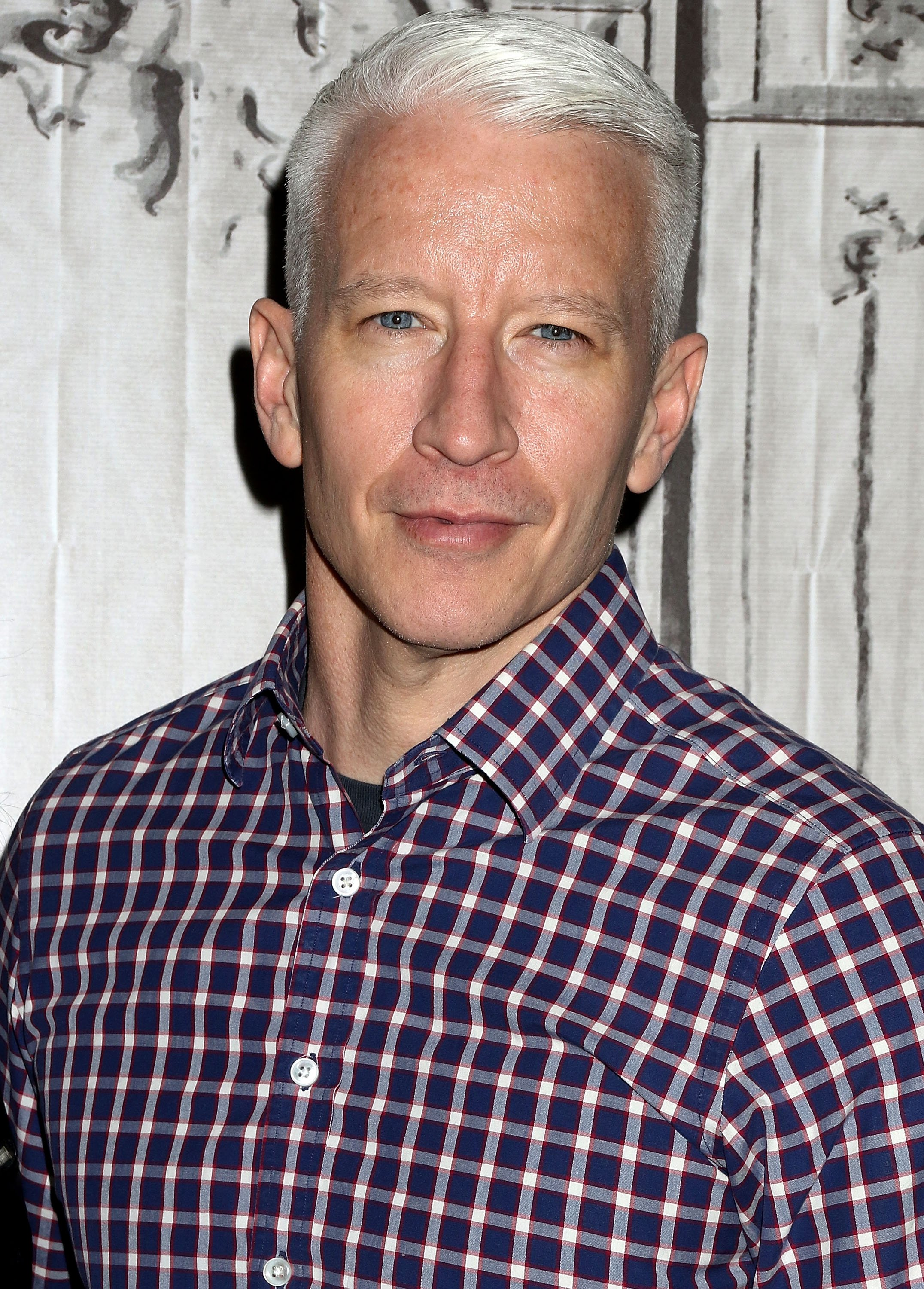 """Anderson Cooper attends AOL Build Speaker Series to discuss """"Nothing Left Unsaid"""" on April 15, 2016, in New York City. 