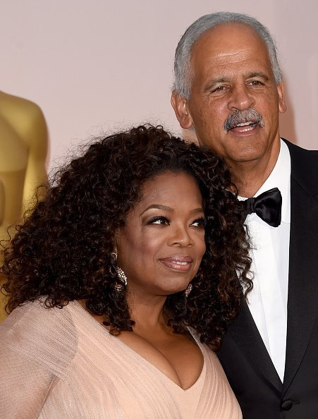 Oprah Winfrey and Stedman Graham at the 87th Annual Academy Awards on February 22, 2015 | Photo: Getty Images