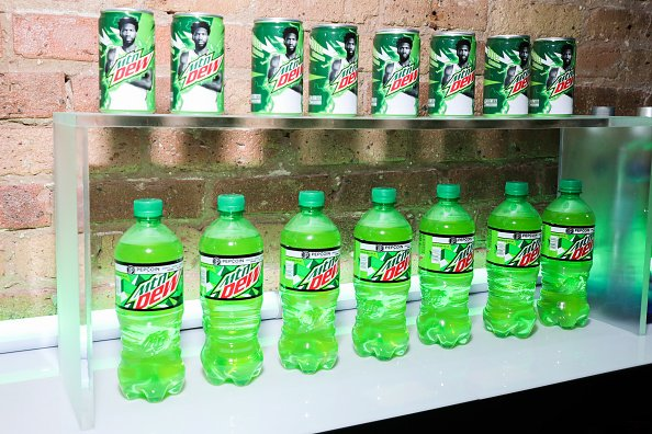 Mountain Dew beverages at Morgan's on Fulton on February 16, 2020 in Chicago, Illinois. | Photo: Getty Images