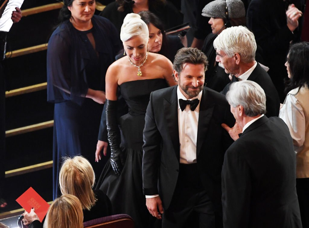 Lady Gaga, Bradley Cooper, and Sam Elliott attend the 91st Annual Academy Awards at Dolby Theatre in Hollywood, California | Photo: Getty Images