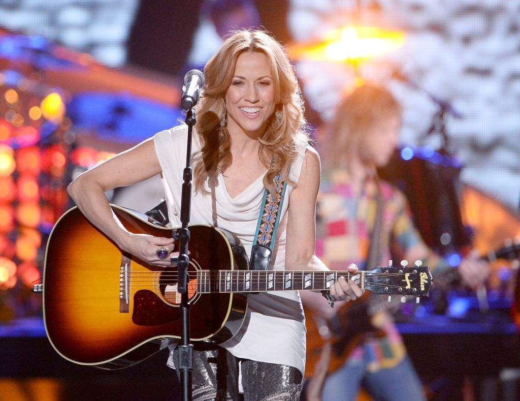 Sheryl Crow performs onstage during the American Country Awards 2013 at the Mandalay Bay Events Center on December 10, 2013