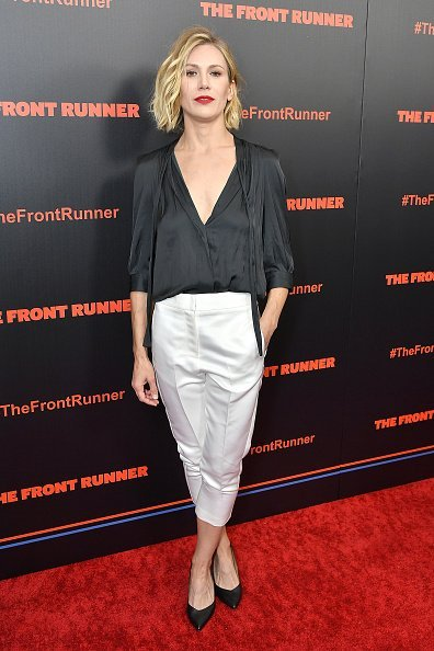 Jennifer Landon attends the New York premiere of 'The Front Runner' at the Museum of Modern Art on October 30, 2018, in New York City. | Source: Getty Images.