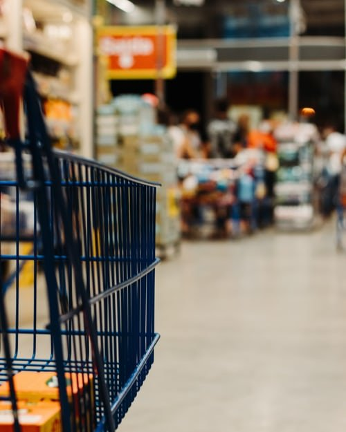 Mr. Nunez filled a shopping cart with groceries   Source: Unsplash