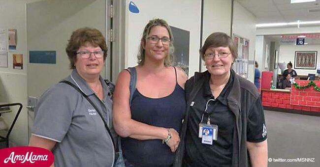 Sobreviviente de accidente vuelve al hospital a conocer a quienes la salvaron hace 2 años