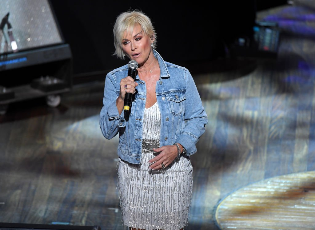Lorrie Morgan performing during the 95th anniversary celebration kick off at The Grand Ole Opry, October 2020 | Source: Getty Images