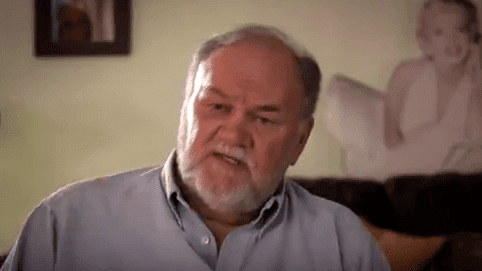 """Thomas Markle speaks about the contents of his documentary, """"Thomas Markle: My Story.""""   Source: YouTube/Entertainment Tonight."""