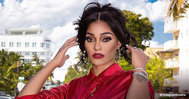 Joseline H. Shades Stevie J with Pic of Her New Man & Daughter Bonnie Bella