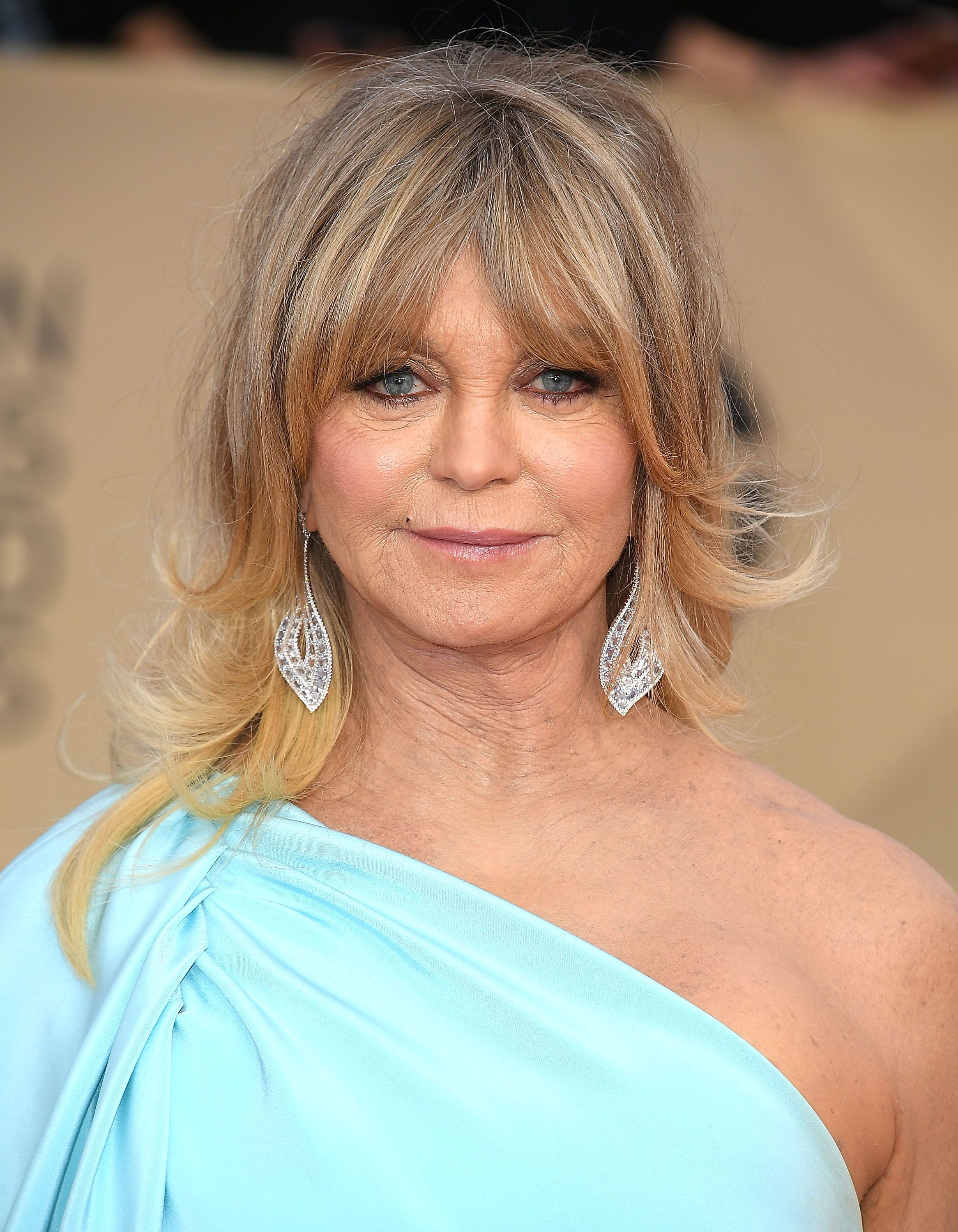 Goldie Hawn at the 24th Annual Screen Actors-Guild Awards at The Shrine Auditorium on January 21, 2018 in Los Angeles, California.   Photo: Getty Images