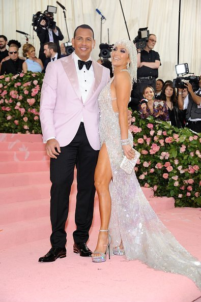 Alex Rodriguez and Jennifer Lopez at The 2019 Met Gala on May 6, 2019 | Photo Getty Images