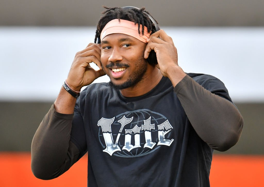 Myles Garrett #95 of the Cleveland Browns at FirstEnergy Stadium on September 17, 2020 | Photo: Getty Images