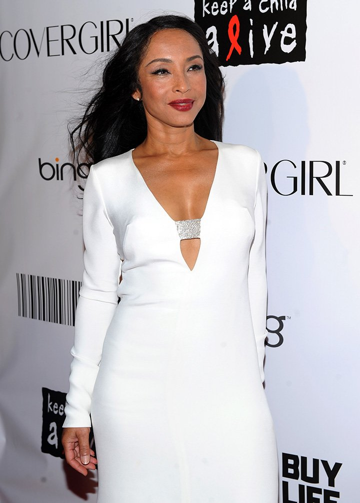 Sade attending the 2010 Keep A Child Alive's Black Ball in New York City in September 2010. | Source: Getty Images.