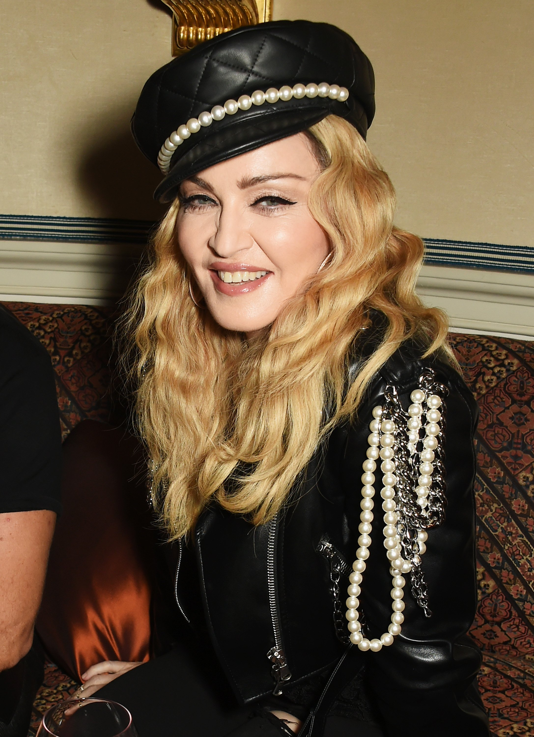 Madonna attends Edward Enninful's OBE dinner at Mark's Club on October 27, 2016. | Photo: GettyImages