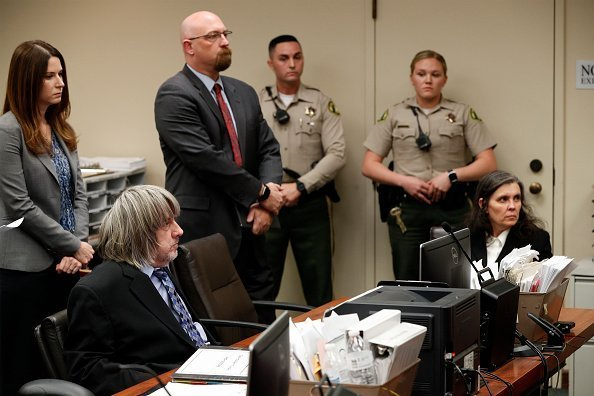 David and Louise Turpin appear in court on January 24, 2018 in Riverside, California | Photo: Getty Images