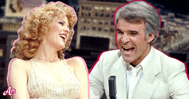 Steve Martin and Bernadette Peters | Source: Getty Images