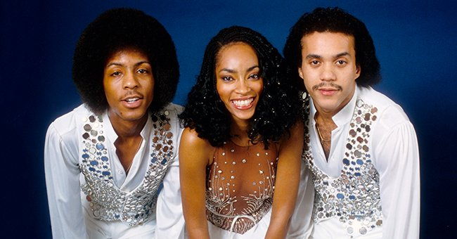"""A picture of Jody Watley with her fellow """"Shalamar"""" band members, Howard Hewett and Jeffrey Daniel on October 7, 1982 in Los Angeles, California 
