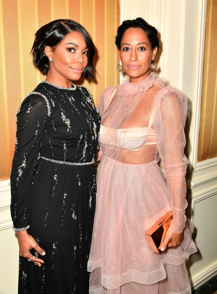 Gabrielle Union & Tracee Ellis Ross at Essence Black Women in Hollywood Awards on Feb. 23, 2017 in California | Photo: Getty Images