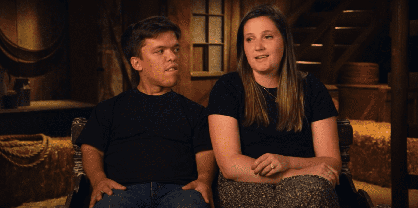 """Tori and Zach Roloff during an episode of """"Little People Big World.""""   Photo: YouTube/TLC"""