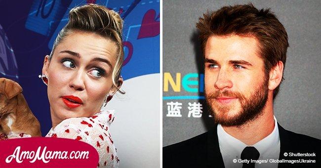Liam Hemsworth makes a daring choice as he rocks the same grey dress as Miley Cyrus