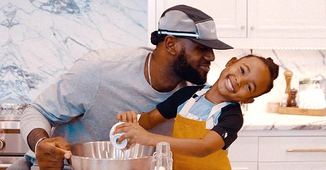 Watch LeBron James Skipping Rope with Daughter Zhuri in an Adorable Video