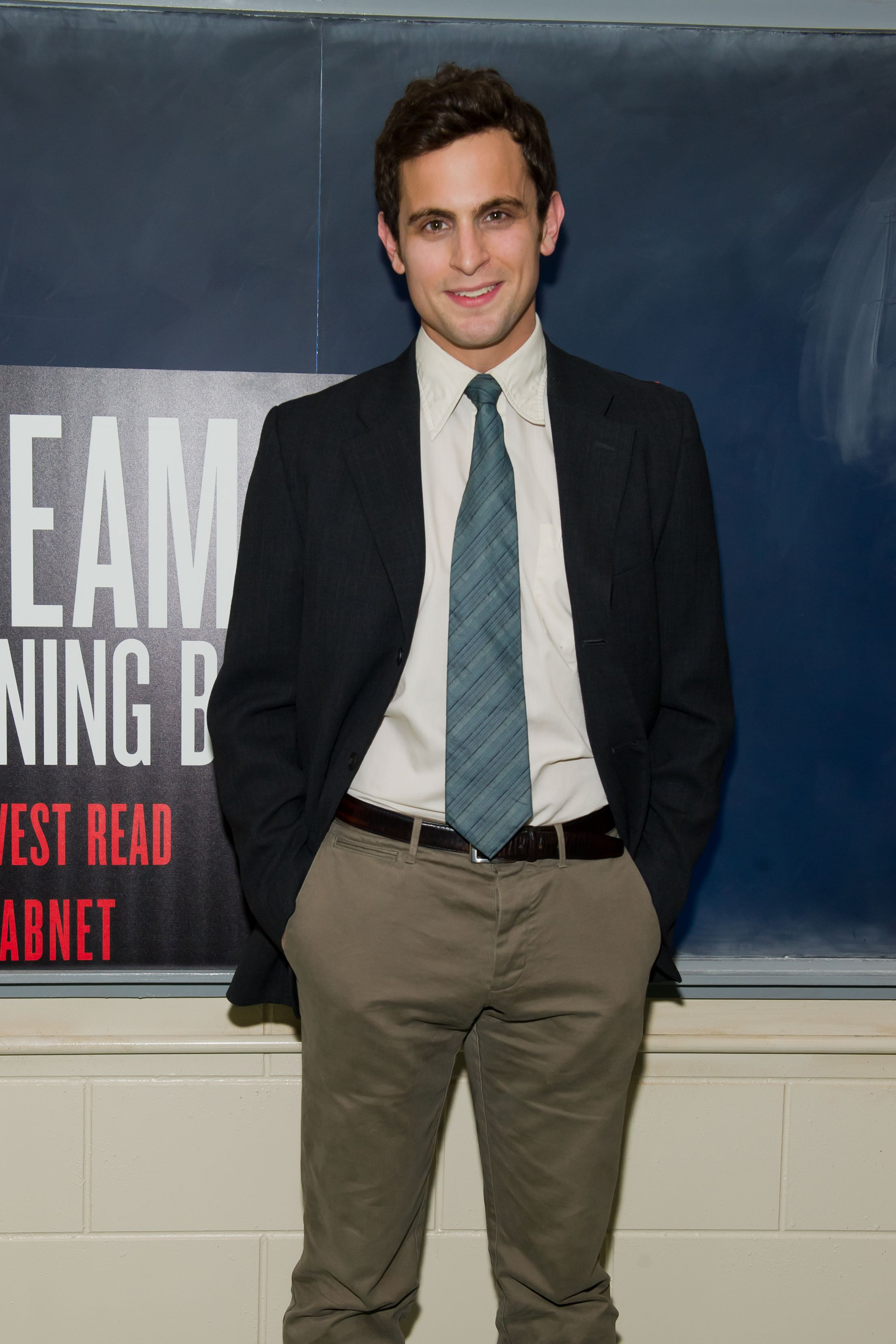 """Matt Dellapina attends the opening night of """"The Dream of the Burning Boy"""" at Roundabout Theatre Company Black Box Theatre on March 23, 2011, in New York City. 