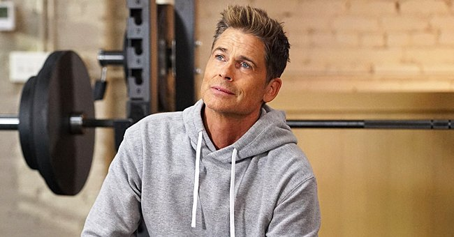 Rob Lowe Posts a Video Working Out with His Father and Their Resemblance Is Truly Uncanny