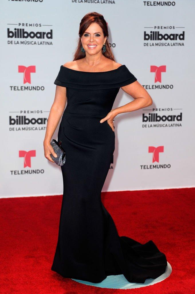 María Celeste en la alfombra roja.   Fuente: Getty Images