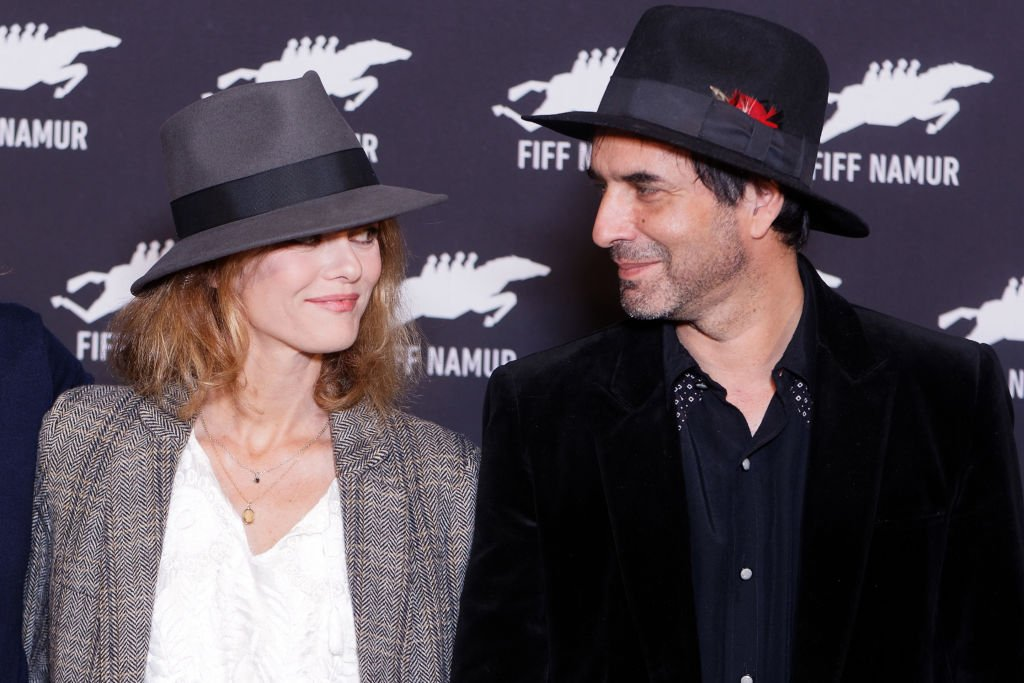 Vanessa Paradis et Samuel Benchetrit au Festival international du film francophone de Namur le 5 octobre 2017 à Namur, en Belgique. Photo : Getty Images
