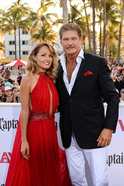 "Hayley Roberts und David Hasselhoff, Paramount Pictures' World Premiere von ""Baywatch"" 