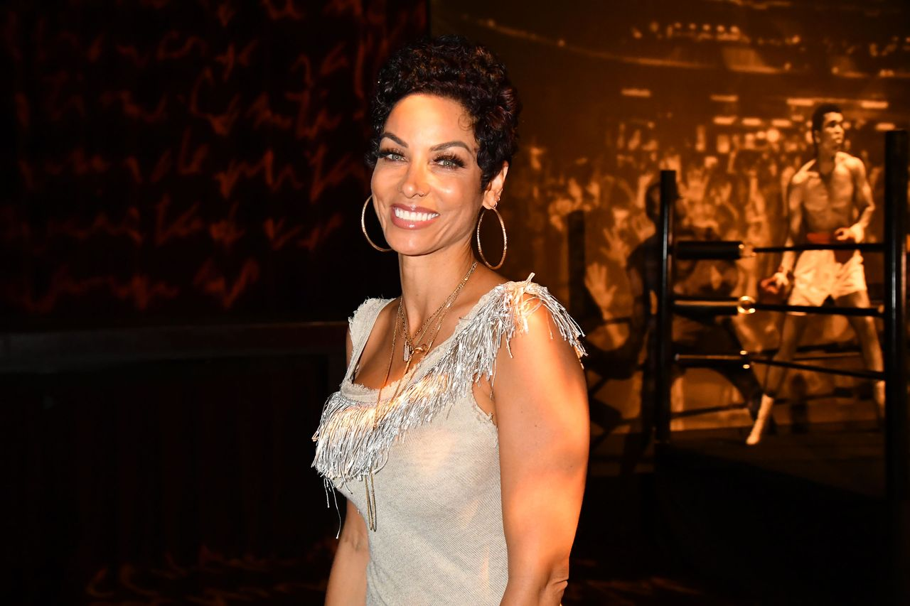 """Nicole Murphy during the after party for the Los Angeles premiere of """"What's My Name   Muhammad Ali"""" from HBO on May 08, 2019 in Los Angeles, California.   Source: Getty Images"""
