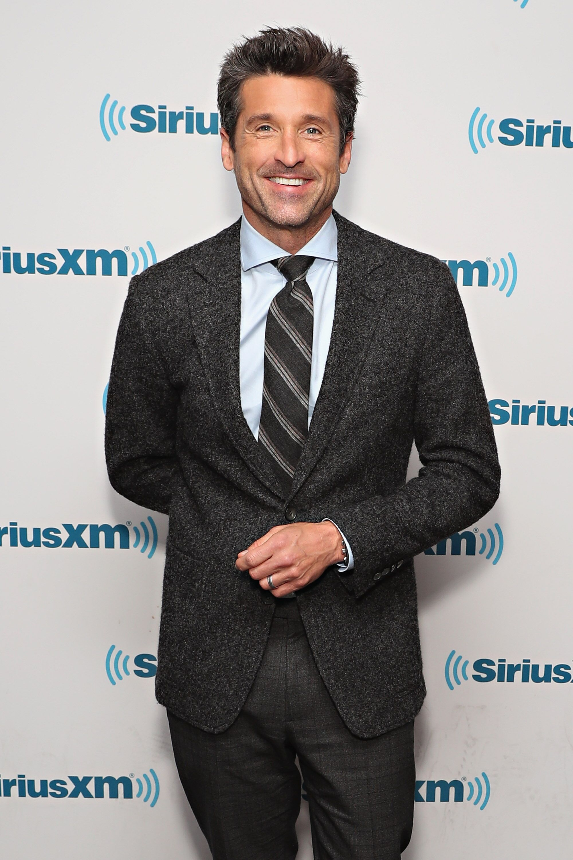 Patrick Dempsey visits the SiriusXM Studios. | Source: Getty Images