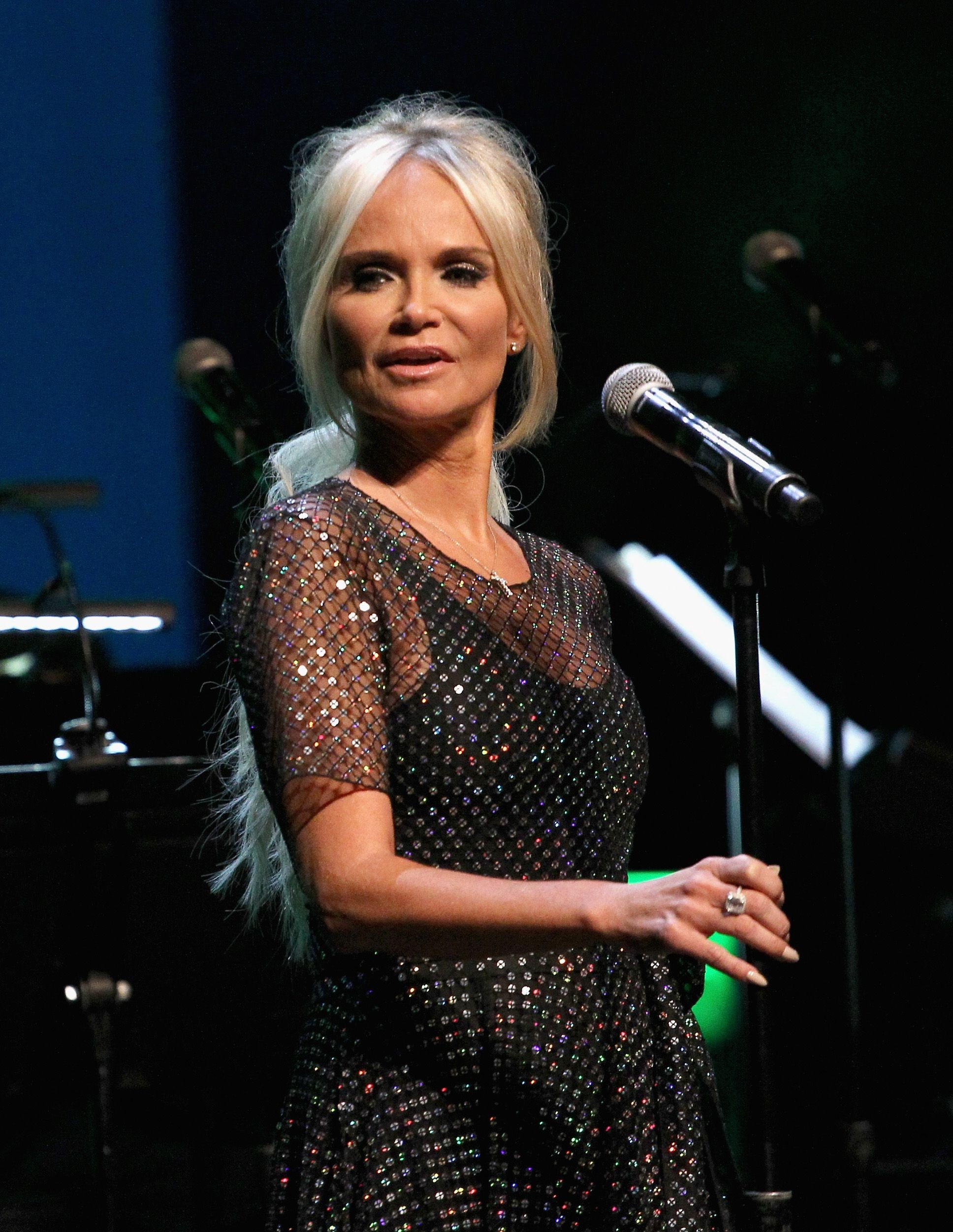 Kristin Chenoweth during the SAG-AFTRA Foundation's 3rd Annual Patron of the Artists Awards at the Wallis Annenberg Center for the Performing Arts on November 8, 2018 in Beverly Hills, California.   Source: Getty Images