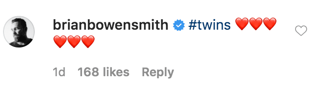 Brian Bowen Smith commented on a black and white portrait of Vanessa Bryant and her daughter Natalia Bryant | Source: Instagram.com/nataliabryant