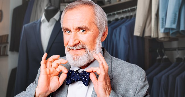 Daily Joke: Elderly Man Asks for Help with His Tuxedo's Bow Tie
