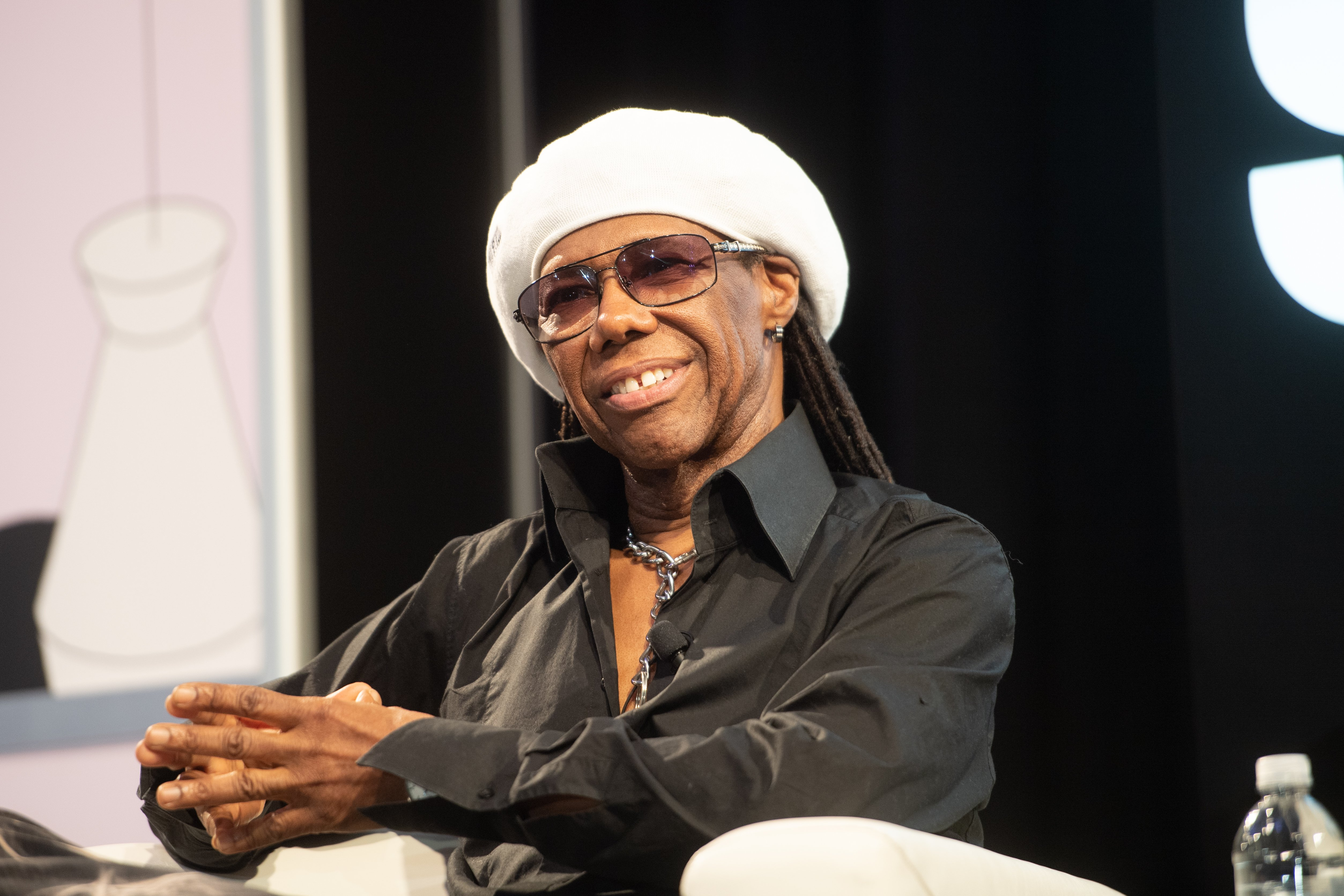 Nile Rodgers speaks onstage during the Featured Session: Nile Rodgers & Merck Mercuriadis - 2019 SXSW Conference and Festivals at Austin Convention Center on March 14, 2019. | Photo: Getty Images