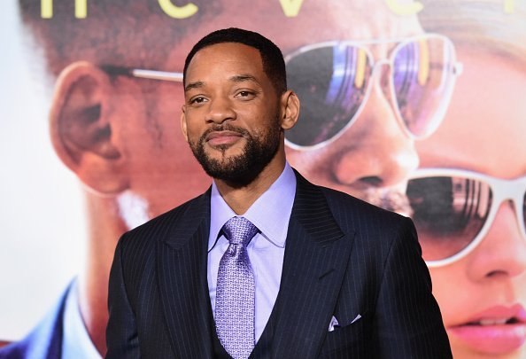 """Will Smith during """"Focus"""" premiere at TCL Chinese Theatre in 2015 