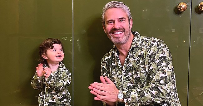 Andy Cohen Says He Sent Anderson Cooper's Son Some Baby Clothes and Visited Him from Afar