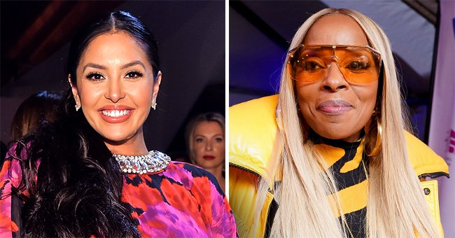 Vanessa Bryant Celebrates Mary J Blige's 50th B-Day with Pics of Her in a Leopard-Print Jacket