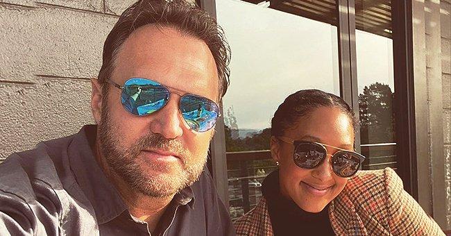 See Tamera Mowry's Reaction after Husband Adam Housley Shared a Barefaced Selfie of Her
