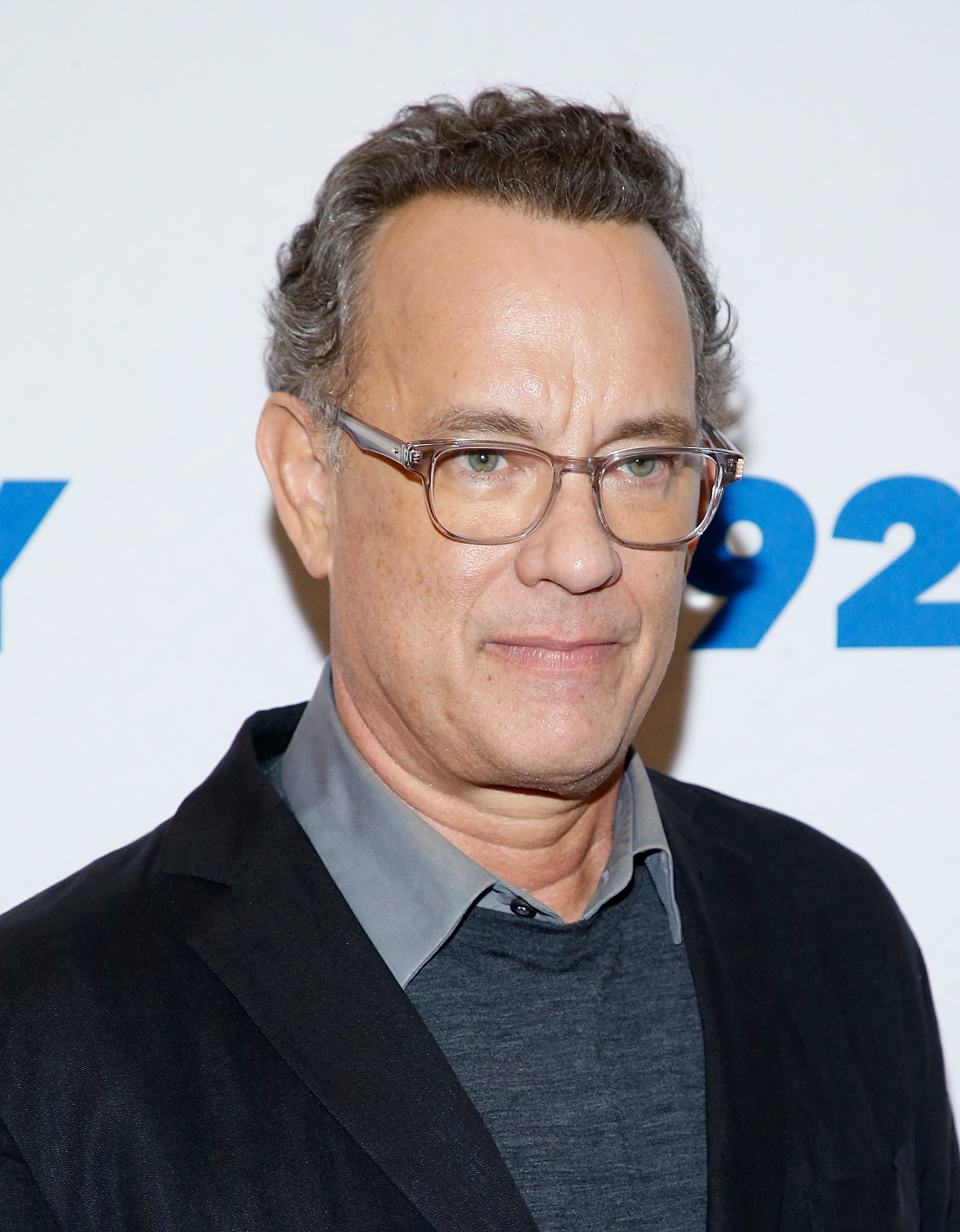 Tom Hanks poses before a conversation with Gayle King at 92nd Street Y on November 1, 2018, in New York City. | Source: Getty Images.