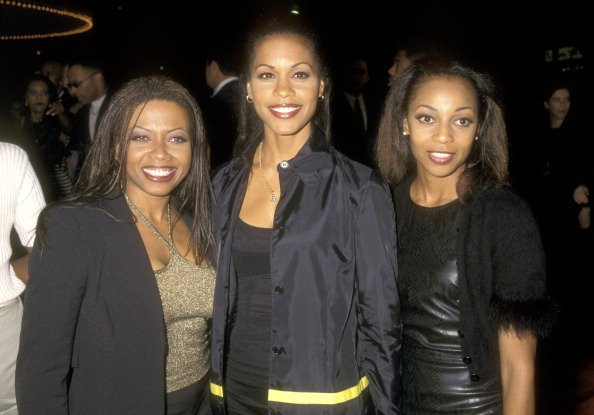 Maxine Jones, Cindy Herron and Terry Ellis at an event | Photo: Getty Images