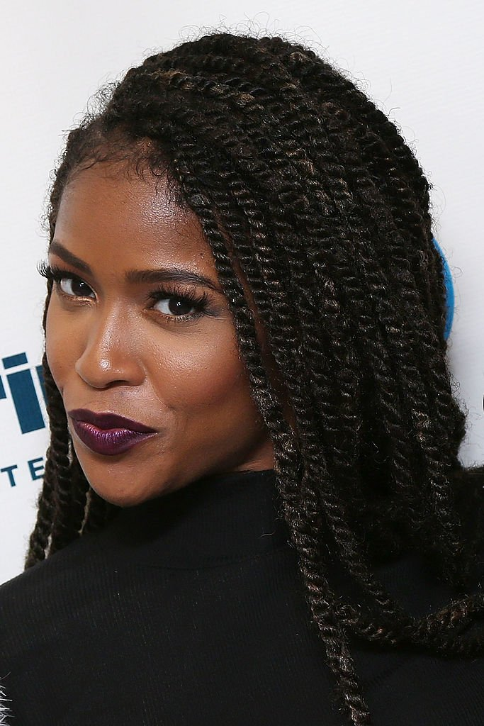 Simone Battle of G.R.L. visits the SiriusXM Studios on April 2, 2014.   Photo: Getty Images