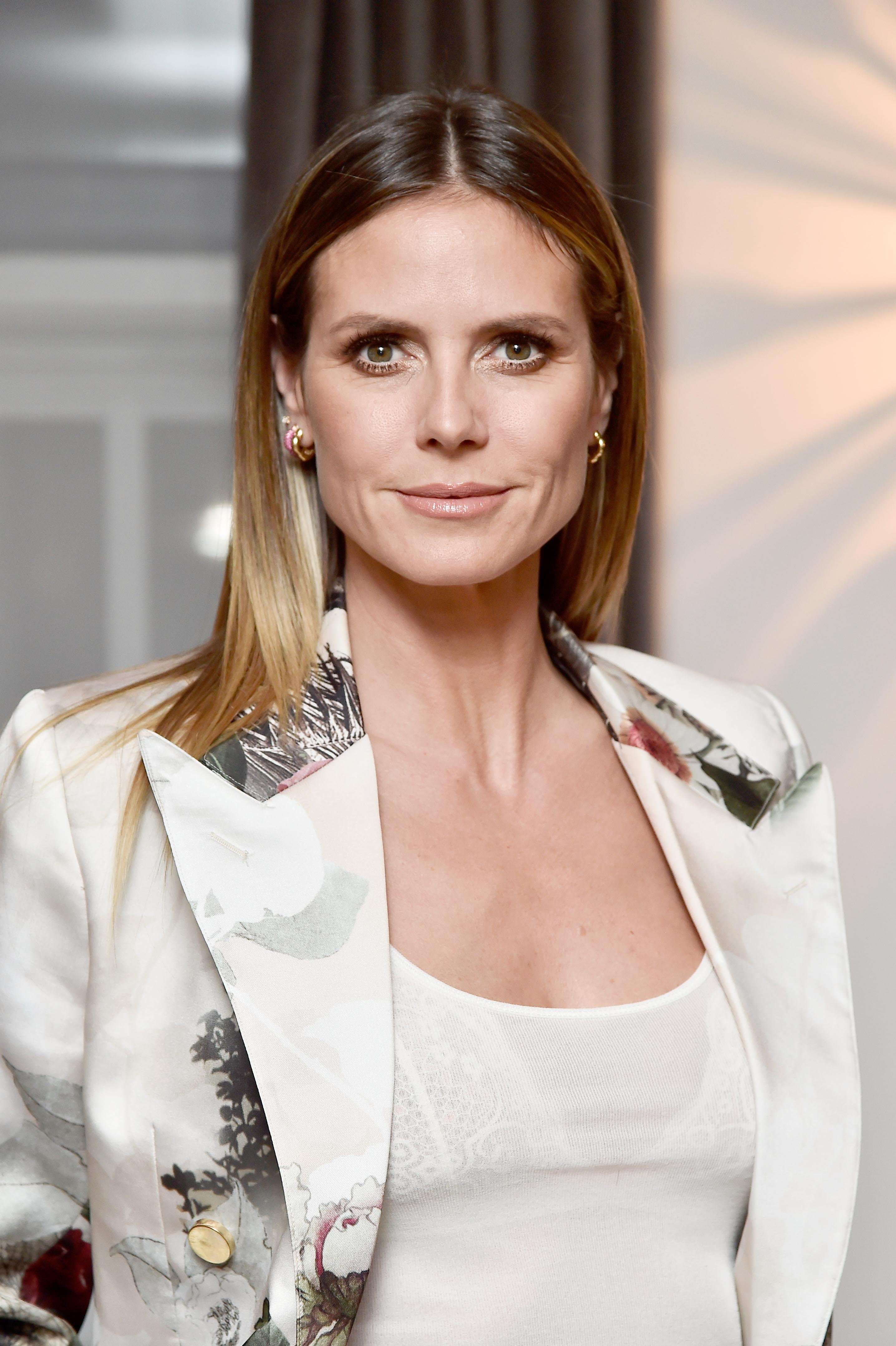 Heidi Klum at the Wolk Morais Collection 6 Fashion Show at The Hollywood Roosevelt Hotel in Los Angeles, California | PhotO: Frazer Harrison/Getty Images for Wolk Morais