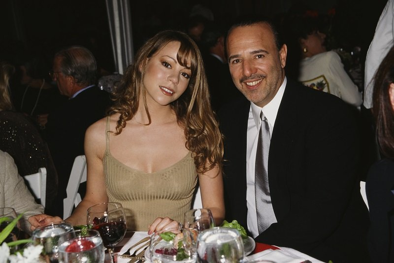 Mariah Carey and Tommy Mottola attend the 'Salute to American Heroes Gala', 1995 | Photo: Getty Images