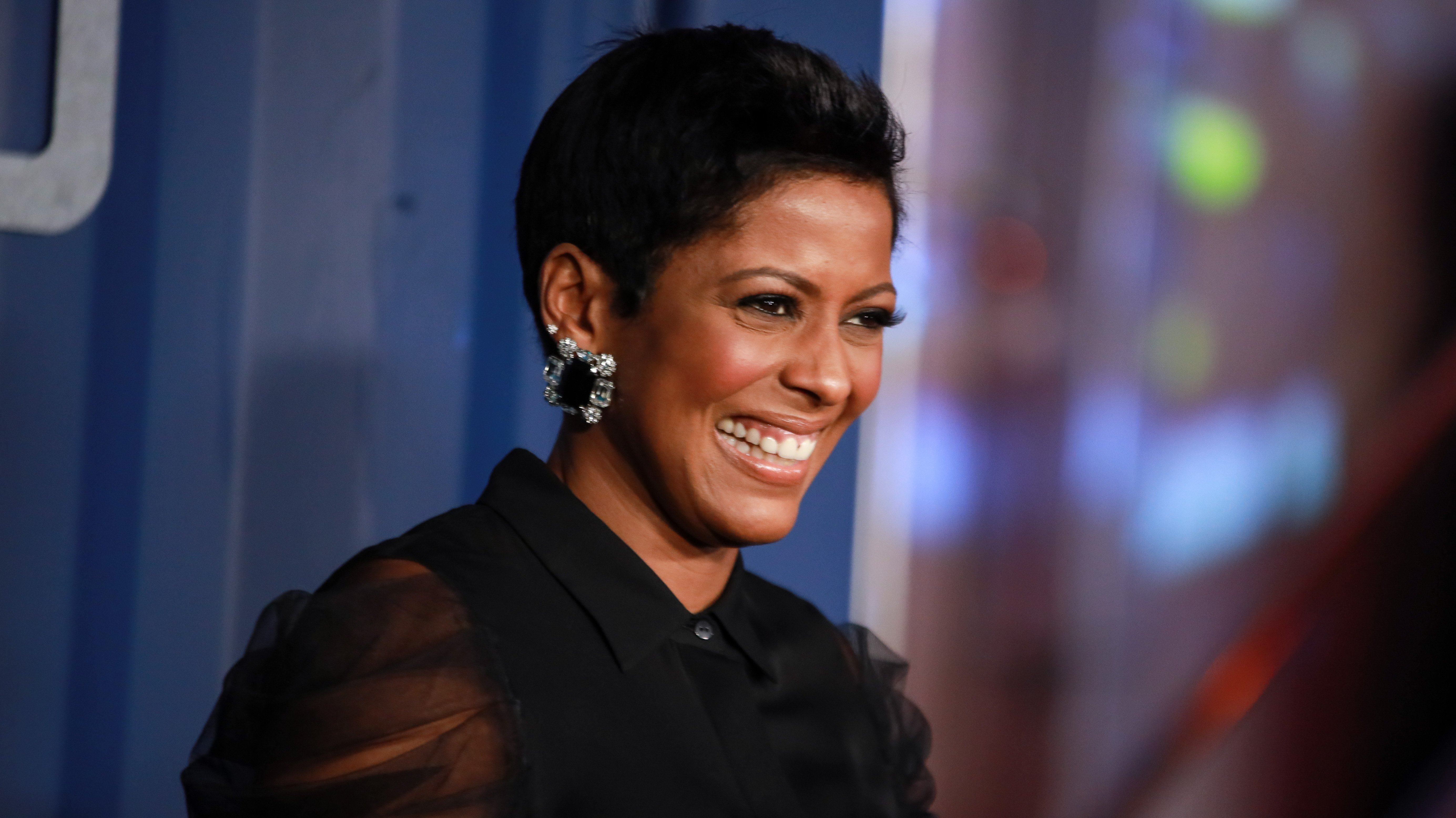 """Tamron Hall at the New York premier of Netflix's """"6 Underground"""" at The Shed on December 10, 2019 in New York City.  Source: Getty Images"""